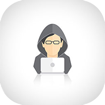 clicking on a person